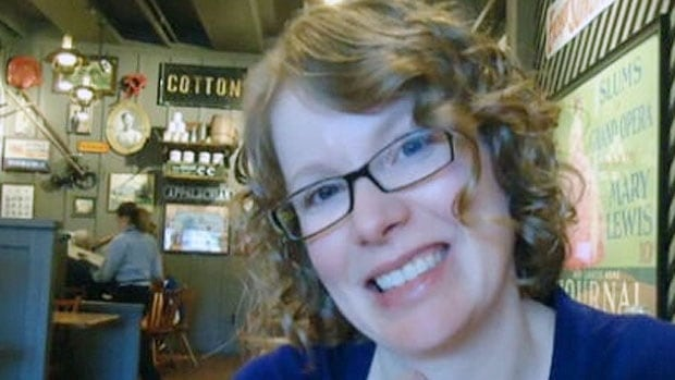 The body of Lisa Gibson was found in the Red River several days after her children were found critically injured in the bathtub of their Winnipeg home.