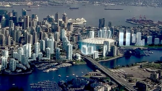 Concord Pacific has released plans to build eight new towers around the Cambie Bridge and BC Place