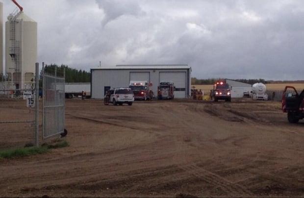 Fertilizer plant explosion Saskatoon