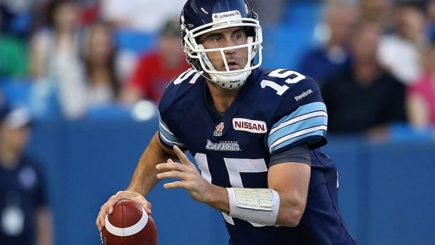 The Argonauts' Ricky Ray will dress as the team's third quarterback against Hamilton on Friday night. Ray, 33, has been out since suffering a shoulder injury in a