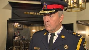 Toronto police Chief Bill Blair on Det-Sgt. Gary Giroux