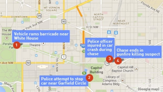 washington capitol shooting map420