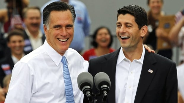Wisconsin congressman Paul Ryan, right, appears Saturday with presumed Republican presidential nominee Mitt Romney in Norfolk, Va., for Ryan's official introduction as Romney's running mate in the fall campaign.