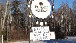 mi-buffalo-point-sign-12111