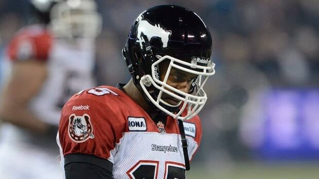 Calgary quarterback Kevin Glenn completed just about 50 per cent of his passes in a Grey Cup loss, and tasted the turf on several occasions.