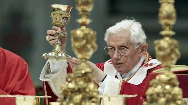 Pope Benedict XVI conducts the holy mass of Pentecost on Sunday in Saint Peter's Basilica at the Vatican. The Pope is said to be following a major scandal reported by Italian newspapers.