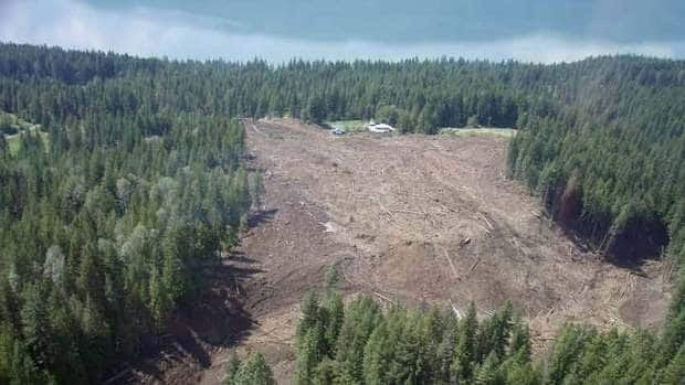 Large landslides in Canada are rare, but some of the biggest ones occur in the mountainous regions of B.C.