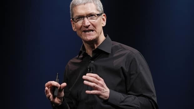 Apple CEO Tim Cook was handed a modest salary for 2012 after shares given to him as part of a sign-on grant last year are now worth $510 million.