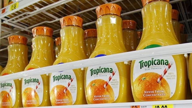 Tropicana said in a statement that it is committed to full compliance with labeling laws and to producing great-tasting 100 per cent orange juice.