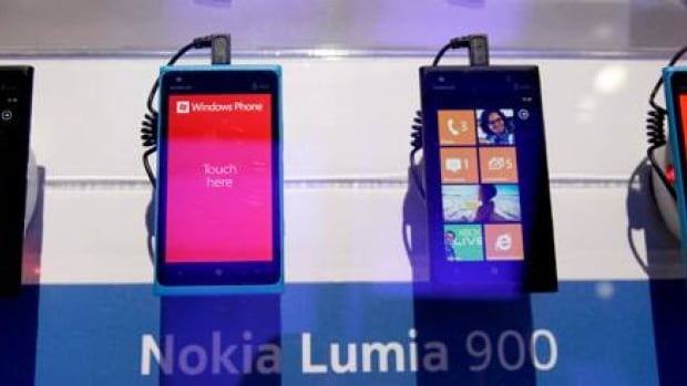 The Lumia 900 — a high-end smartphone designed to compete with devices like Apple's iPhone but available for a much lower price — received positive reviews when it was unveiled at the Consumer Electronics Show in January.