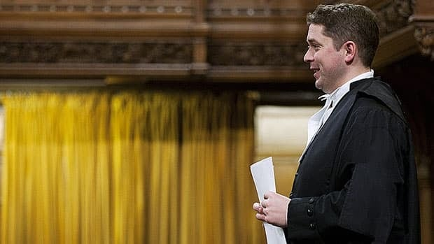 Speaker Andrew Scheer rises at the end of question period in the House of Commons Dec. 15. After a tumultuous end to the fall sitting, MPs will break until Jan. 30, 2012, when the House is scheduled to return. Adrian Wyld/Canadian Press