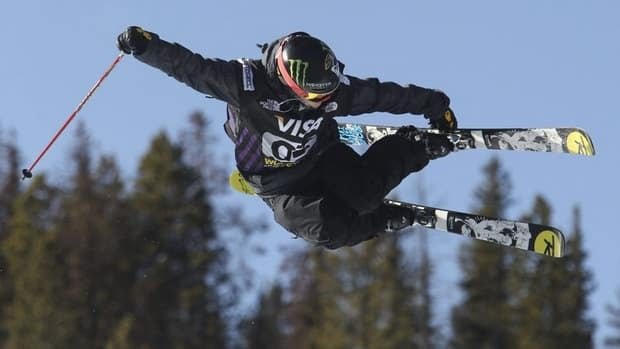 Sarah Burke of Squamish, B.C., shown here during the FIS halfpipe final on Dec. 9, was airlifted to a Salt Lake City hospital on Tuesday.