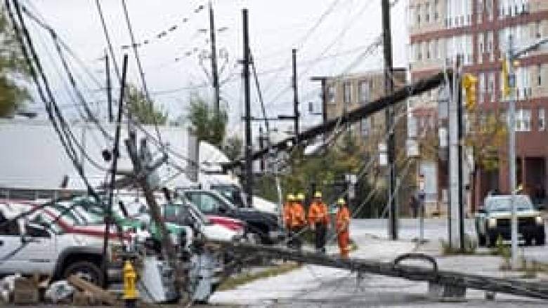 Hydro Worker Killed During Sandy Repairs In Ontario Cbc News