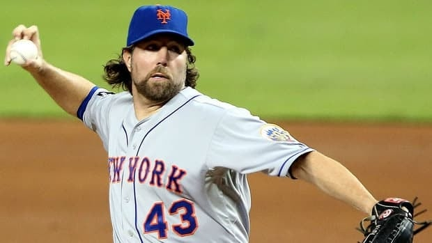 Mets starting pitcher R.A. Dickey won the National League Cy Young Award last season after posting a 20-6 record and 2.73 earned-run average. (