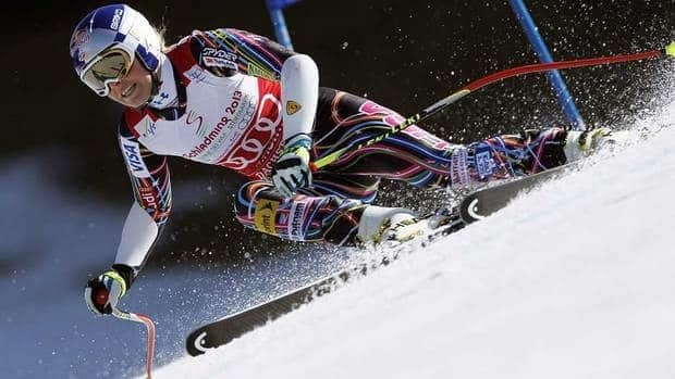 On Saturday, Lindsey Vonn, of the United States, reached 1,980 points to beat the previous best mark of 1,970 set by Janica Kostelic of Croatia in 2006.