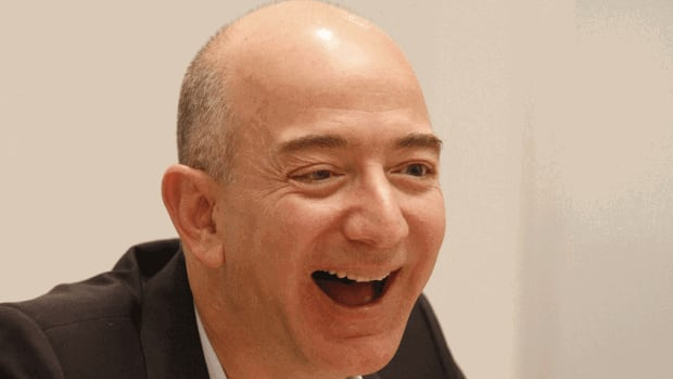Jeff Bezos has turned Amazon.com into the world's largest online seller since its founding in the late 1990s.