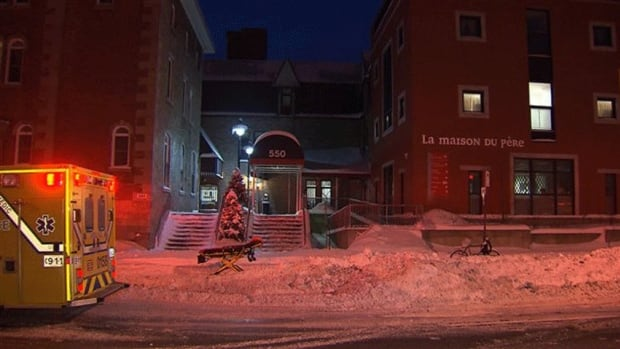 Two men were found dead Saturday at the Maison du Père shelter in Montreal.