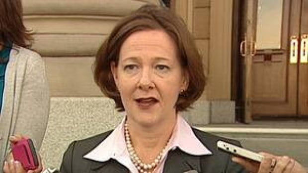 Alberta Premier Alison Redford says the Alberta pipeline revenues will not be shared with B.C.