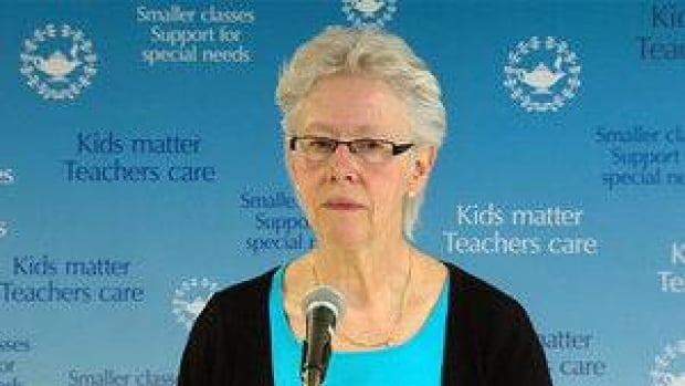 BCTF President Susan Lambert says the union is taking the goverment back to court to settle the class size issue.