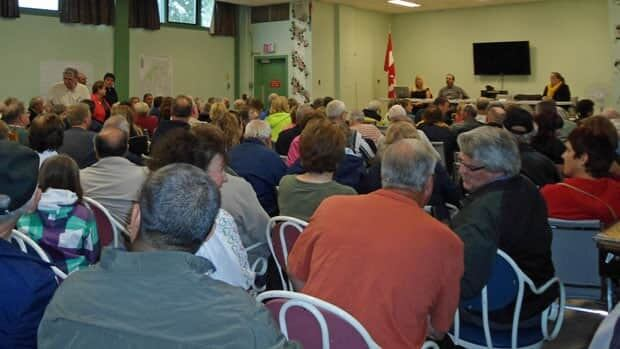 About 200 people came out to a meeting about ongoing flooding in the Northwood area of Thunder Bay. The city's recent flood only exacerbates the persistant flooding issues the area experiences, residents say.