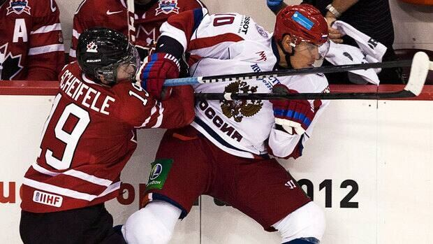 Nail Yakupov, right, has appeared in two games for his hometown Nizhnekamsk Neftekhimik during the NHL lockout.