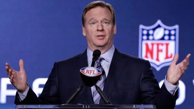 NFL commissioner Roger Goodell suspended four players on Tuesday for their involvement in the New Saints bounty program.