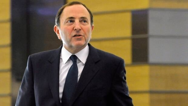 NHL Commissioner Gary Bettman leaves following labour talks, Friday, Nov. 9, 2012, in New York.
