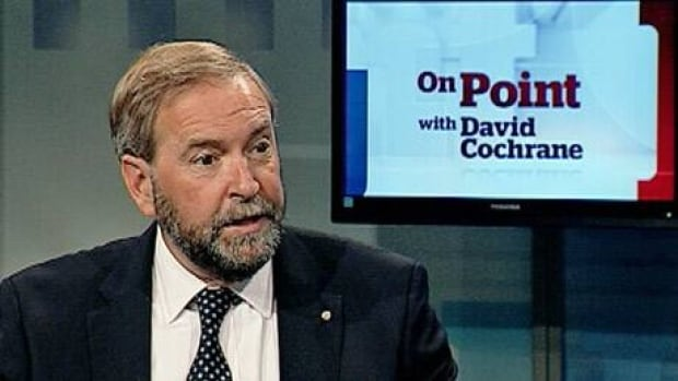 Federal NDP Leader Tom Mulcair is the featured guest on this week's episode of On Point with David Cochrane.