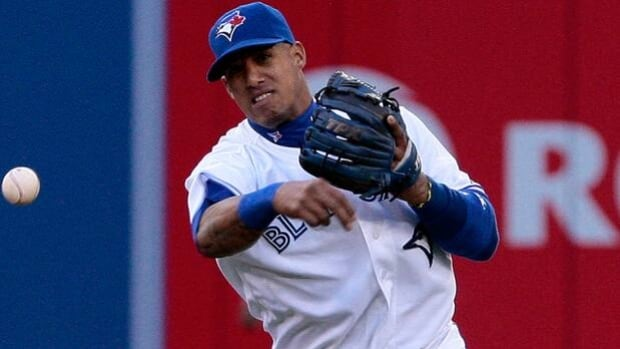 Shortstop Yunel Escobar is one of the few healthy regulars remaining in the Blue Jays infield.