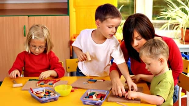 It's important to ensure daycare facilities have plenty of activities, like books and toys, to keep your child busy.