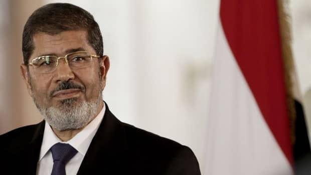 Egyptian President Mohammed Morsi issued constitutional amendments Thursday granting himself far-reaching powers.
