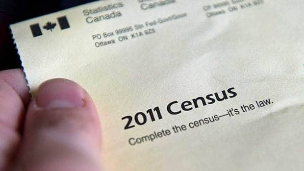 Canada's 2011 census package: results were released Wednesday.