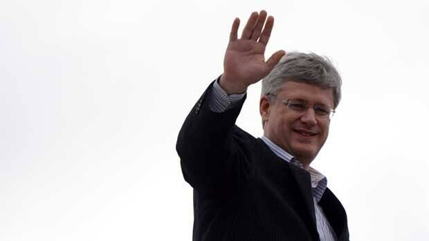 Prime Minister Stephen Harper departs from Ottawa on Saturday, en route to India.