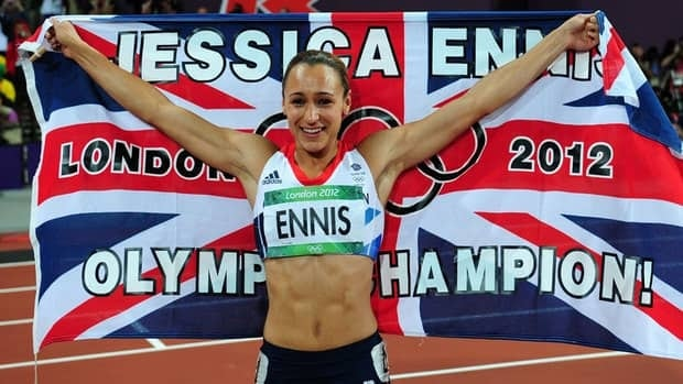 "Jessica Ennis won Great Britain's first track and field goal medal on what became known as ""Super Saturday"" at London's Olympic Stadium on Aug. 4."