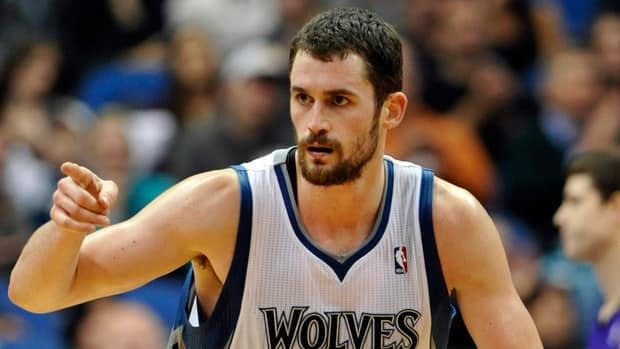 Minnesota Timberwolves' Kevin Love will miss the next six to eight weeks after breaking his right hand in a workout on Wednesday.