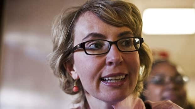 Former congresswoman Gabrielle Giffords, shown casting her U.S. election ballot Monday in Tucson, Ariz., attended the sentencing hearing Thursday of the man who shot her and others at a political event in 2011.