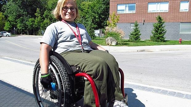 Kimberly Brown took part in the Terry Fox CAUSE on Campus campaign at McMaster University Sunday.