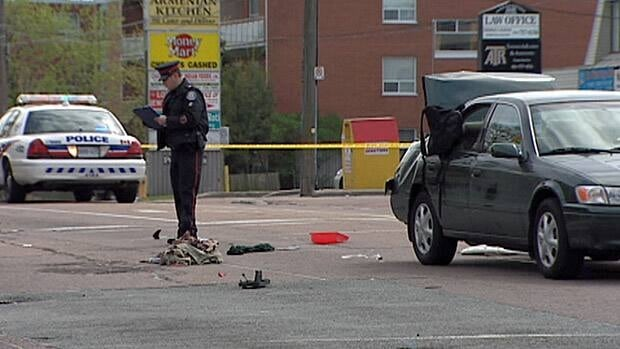 Toronto police are investigating a collision on Victoria Park Avenue that left a cyclist with serious injuries on Sunday afternoon.