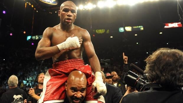 Floyd Mayweather Jr. made $85 million US for two fights last year.