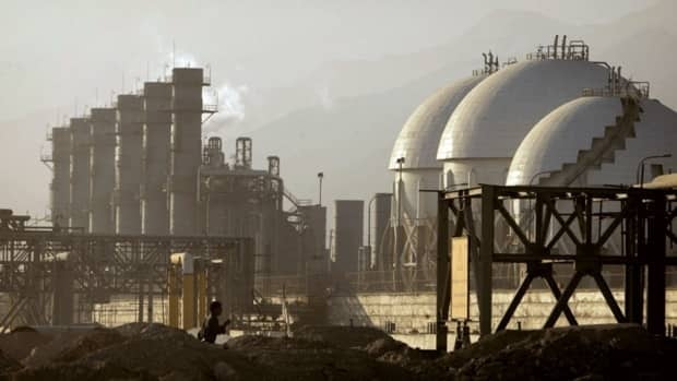 A view of an Iranian petrochemical complex in Assaluyeh seaport on the Persian Gulf, 1,400 km south of Tehran. Iranian officials claim that the country's oil infrastructure was briefly affected by a newly discovered computer virus that experts say is the most sophisticated cyberweapon to date.