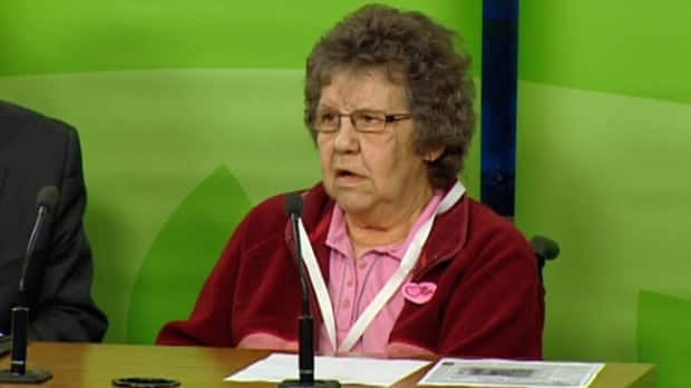 Beverley Munro says staff in her ward at the Edmonton General Hospital physically manhandle her.
