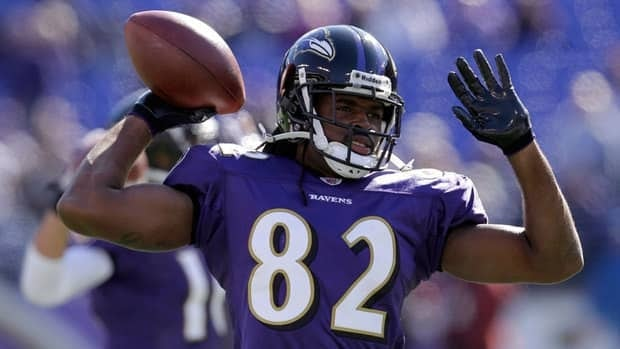 Receiver Torrey Smith is in his second NFL season.
