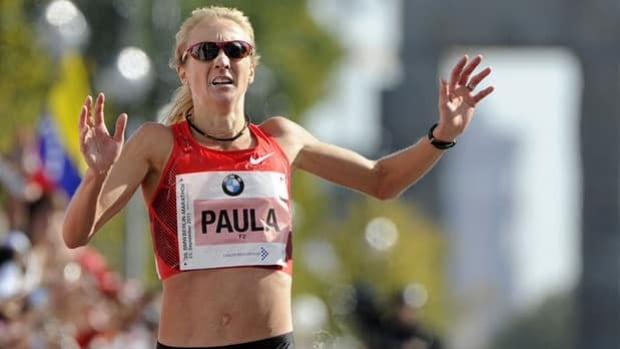 Paula Radcliffe, the women's world marathon record holder, will no longer receive funding from UK Athletics.
