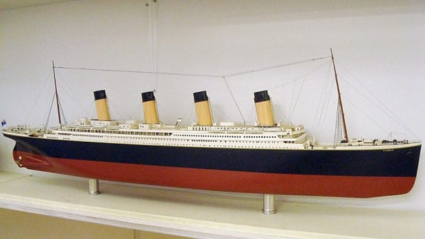 Australian billionaire Clive Palmer plans to build Titanic II, aiming for a maiden voyage in 2016, 104 years after the original. Titanic sank on April 15, 1912 after hitting an iceberg on its maiden voyage from Southampton, England to New York. This model of the original Titanic is on display at South Street Seaport Museum in New York.
