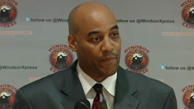Bill Jones, former New Jersey Nets player, is the first head coach for the Windsor Express, the city's new basketball team.
