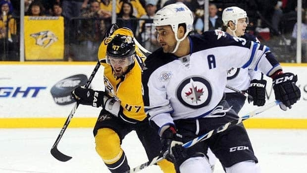 Winnipeg Jets Duystin Byfuglien was arrested in August 2011 near Minneapolis and charged with boating while under the influence.