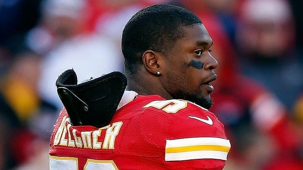 Chiefs linebacker Jovan Belcher shot his girlfriend, 22-year-old Kasandra Perkins, at their Kansas City home on Dec. 1, then drove to Arrowhead Stadium, where he shot himself in the head in front of team officials.