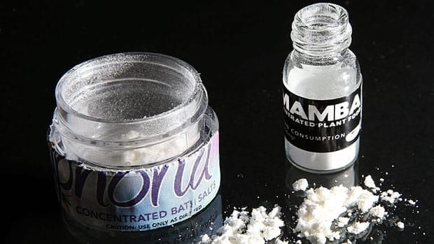 The federal government said Tuesday it intends to make MDPV, an ingredient in the drug known as bath salts, illegal.