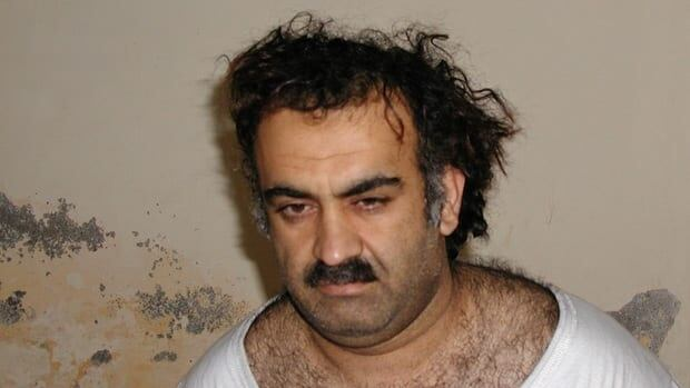 Khalid Sheikh Mohammed, the alleged Sept. 11 mastermind, is seen shortly after his capture during a raid in Pakistan.