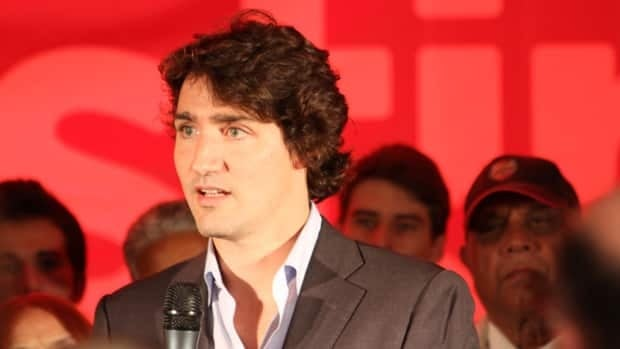 Justin Trudeau speaks to Hamiltonians at the Sheraton Hotel Wednesday.